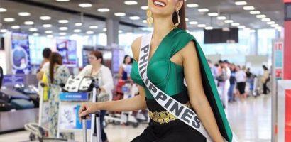 Ngắm váy áo của 'Nữ hoàng sắc đẹp' Philippines tại Hoa hậu Hoàn vũ 2018