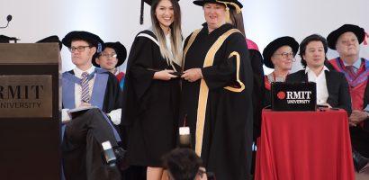 Ngọc Thanh Tâm tốt nghiệp đại học loại giỏi tại trường quốc tế