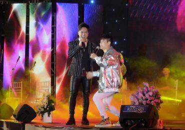 Ngọc Sơn, Tuấn Hưng, Châu Khải Phong 'cháy' hết mình trong liveshow 15 năm Lương Gia Huy
