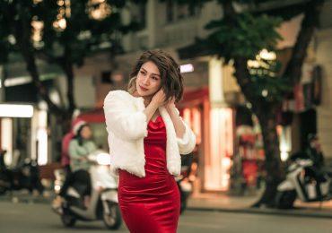 Khám phá gu thời trang giáng sinh của ca sĩ Pha Lê