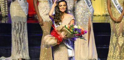 Sắc vóc siêu quyến rũ của tân Hoa hậu Liên lục địa 2018