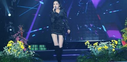 Hoa hậu Dy Khả Hân khoe giọng hát 'gây thương nhớ' trong đêm nhạc từ thiện