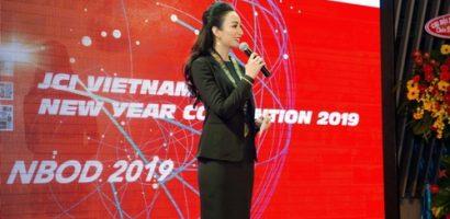 Hoa hậu Ngọc Diễm được bầu chọn làm chủ tịch tổ chức JCI Việt Nam 2019