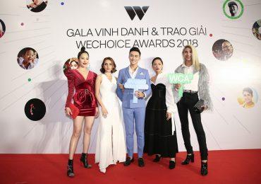 Mạc Trung Kiên và dàn sao The Face Vietnam 2018 rạng rỡ trên thảm đỏ