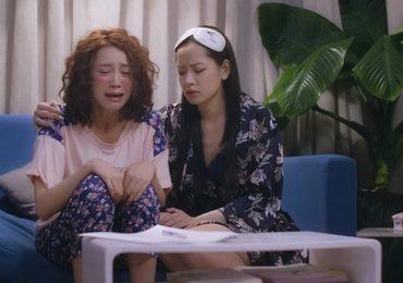 'Mối tình đầu của tôi': Chi Pu bất lực nhìn Lan Ngọc khóc lóc vật vã vì lụy tình