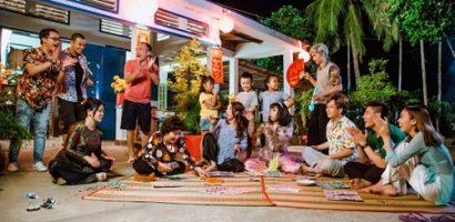 Thu Trang và Tiến Luật tiếp mang con trai cưng vào clip hài Tết