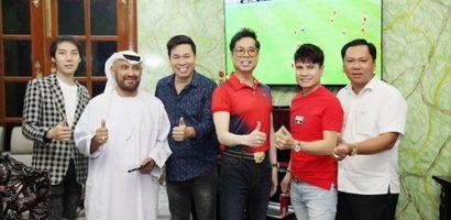 Ca sĩ Michael Lang mời doanh nhân từ Dubai sang Việt Nam