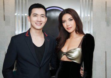 Minh Tú và Võ Cảnh nổi bật trong sự kiện ở Nha Trang