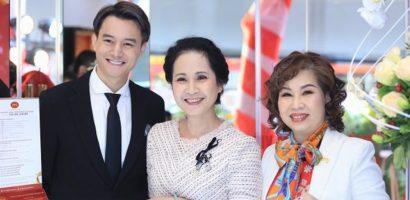 NSND Lan Hương, Anh Dũng và Thanh Hương hội ngộ tại sự kiện