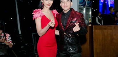 Hoa hậu Ngọc Diễm hạnh phúc gặp lại thần tượng thời sinh viên