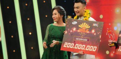 Diễn viên Dương Cường giành giải quán quân 'Người nghệ sĩ đa tài 2018'