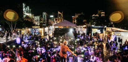 Min, Karik, Binz và Justatee quẩy 'tung nóc' trong đêm hội '#Veryspecial Urban Fest Countdown'