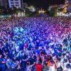Hơn 50.000 người dân đón năm mới tại phố đi bộ Nguyễn Huệ Tp.HCM