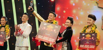 Nam vương Cao Xuân Tài đạt giải Á quân chương trình 'Người nghệ sỹ đa tài 2018'