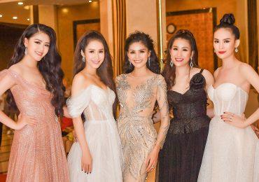 Mỹ nhân Việt rạng rỡ trên tại 'Dạ tiệc nhan sắc'