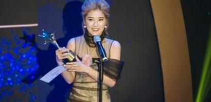 Hoàng Yến Chibi lập cú đúp tại giải thưởng điện ảnh 'Ngôi Sao Xanh 2018'