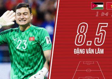 Chấm điểm Jordan vs Việt Nam: Gọi tên ngôi sao 'Phượng Hoàng'