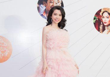 Hoa hậu Huỳnh Vy đẹp lộng lẫy tại thảm đỏ
