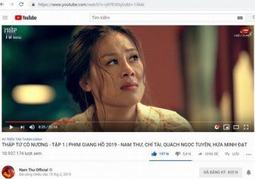 'Thập Tứ cô nương' – 3 ngày ra mắt đạt 10 triệu view, top 2 thịnh hành YouTube