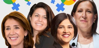 10 phụ nữ quyền lực nắm các vị trí chiến lược tại Google