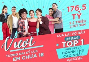 Phim 'Cua lại vợ bầu' trở thành phim Việt ăn khách nhất mọi thời đại