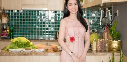 Hoa hậu Huỳnh Vy hướng dẫn cách muối dưa đón Tết