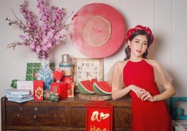 Quán quân The voice 2018 diện áo dài với vẻ đẹp ngọt ngào đón xuân