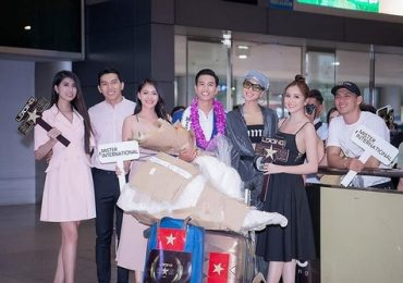Chiến thắng trở về, Nam vương Trịnh Bảo được bạn bè chào đón tại sân bay