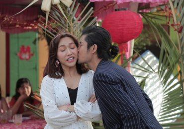 Hồ Vĩnh Anh làm Diệu Nhi ngớ người vì nụ hôn