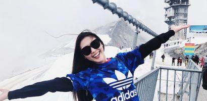 Hoa hậu Tường Linh khoe album ảnh mỗi tháng đi 1 nước năm 2018