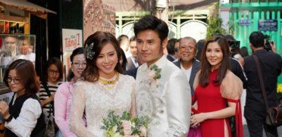 Lễ rước dâu ngập tràn hạnh phúc của của cặp đôi diễn viên Vũ Ngọc Ánh – Anh Tài