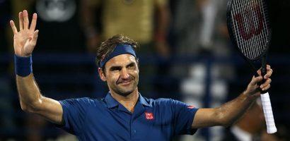 Roger Federer vất vả vào tứ kết Dubai Open