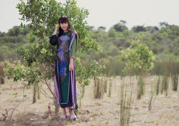 Hoa hậu Hằng Nguyễn táo bạo làm mới áo dài Việt Nam