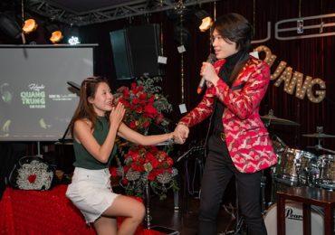 Quang Trung ôm chặt Nam Thư vì xúc động trước tình cảm của đàn chị