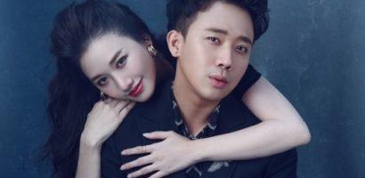 Hari Won yêu kiều tạo dáng cạnh Trấn Thành trong bộ ảnh Valentine