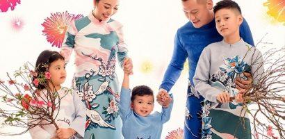 Gia đình Hoa hậu Jennifer Phạm sum vầy đón xuân