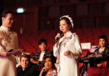 Ca sĩ Đinh Hiền Anh dịu dàng ngồi ghế giám khảo Hoa hậu
