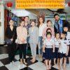 Minh Tú, Ngọc Châu đến thăm các em mồ côi tại mái ấm tình thương