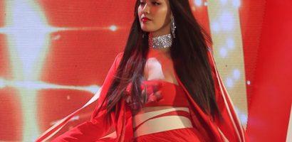 Tái xuất showbiz hậu đám cưới, Lan Khuê gây chú ý khi trở thành vedette show thời trang