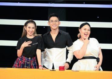 Sau chia tay Ngô Kiến Huy, Khổng Tú Quỳnh 'thả thính' công khai trên sóng truyền hình