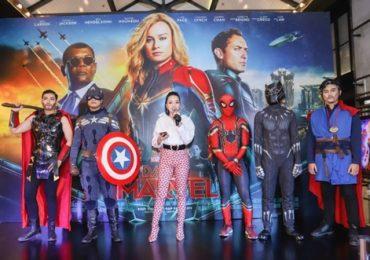 Sao Việt đổ bộ đến họp báo ra mắt 'chị Đại' nhà Marvel