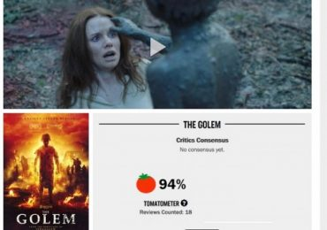 Kumathong phiên bản Do Thái xuất hiện đầy kinh dị trong 'Chúa Quỷ – The Golem'