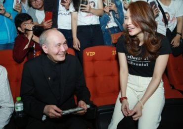 Nhạc sĩ Vũ Thành An bất ngờ đi xem 'Chị trợ lý của anh' của Mỹ Tâm