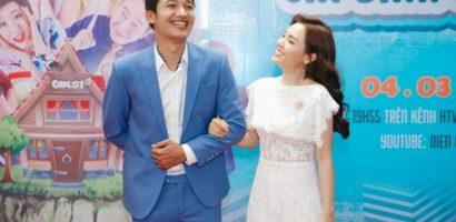 Linh Phi không ghen khi Quang Tuấn đóng cảnh thân mật với bạn diễn nữ