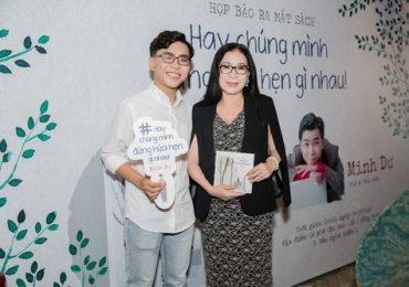Diễn viên Minh Dự ra mắt sách, đông đảo nghệ sĩ ủng hộ