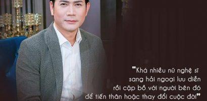 Quách Thành Danh tiết lộ chuyện nữ ca sĩ qua hải ngoại 'cặp bồ' đại gia