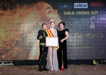 Trà Ngọc Hằng được vinh danh Nữ hoàng sắc đẹp tại sự kiện 'Oscar for Hair 2019'