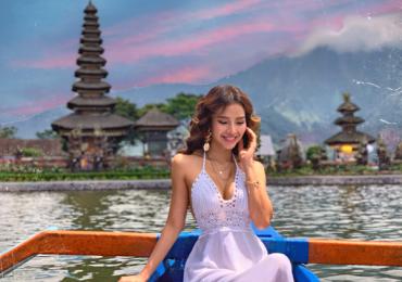 Phương Trinh Jolie gợi cảm hết cỡ ở Bali