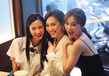 Bận rộn với công việc, Lan Ngọc vẫn tranh thủ hội ngộ cùng Jun Vũ và Phương Anh Đào