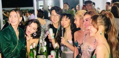 Châu Bùi kết đôi ăn ý cùng Quang Bảo, hội ngộ dàn sao đình đám tại sự kiện